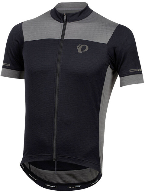 PEARL iZUMi Elite Escape SS Semi Form Jersey Men black/smoked pearl